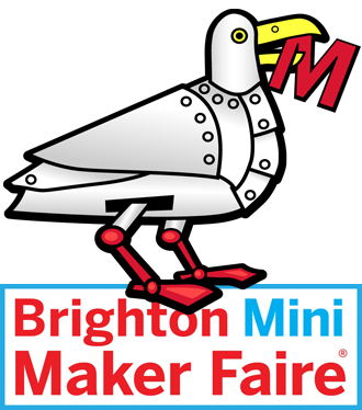 Brighton Mini Maker Faire Mascot