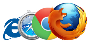 Browser logos