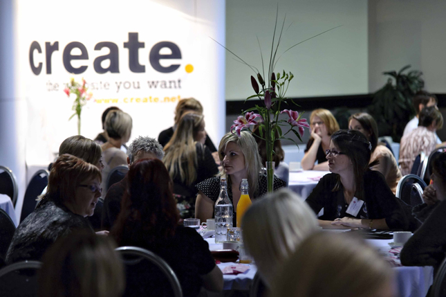 Create at Mumpreneur Conference 2011