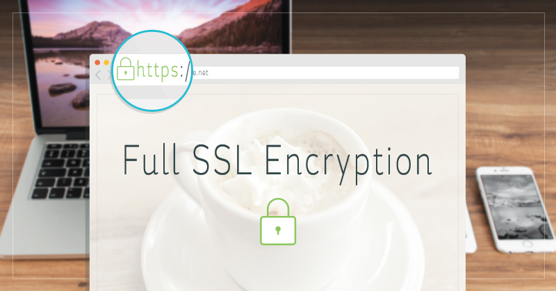 SSL Encryption Graohic